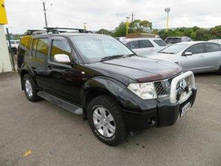 2005 Nissan Pathfinder R51 ST-L (4x4) Black 5 Speed Automatic Wagon.
