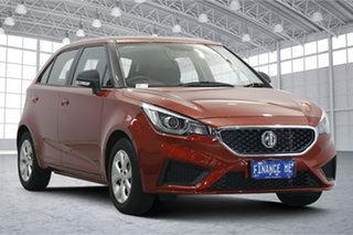 2020 MG MG3 SZP1 MY20 Core Bristol Red 4 Speed Automatic Hatchback.