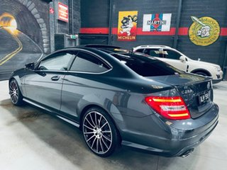 2015 Mercedes-Benz C-Class C204 C250 CDI 7G-Tronic Avantgarde Grey 7 Speed Sports Automatic Coupe