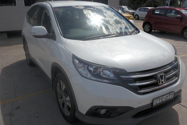 Used Honda CR-V RM MY15 VTi Maryville, 2014 Honda CR-V RM MY15 VTi White 5 Speed Automatic Wagon
