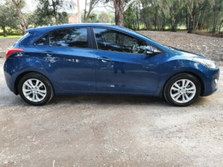 2014 Hyundai i30 GD2 SE Blue Sports Automatic Hatchback.