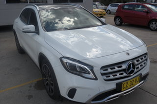 2017 Mercedes-Benz GLA-Class X156 807MY GLA220 d DCT White 7 Speed Sports Automatic Dual Clutch.