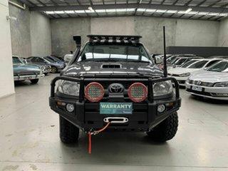 2011 Toyota Hilux KUN26R MY12 SR5 Double Cab Grey 5 Speed Manual Utility.