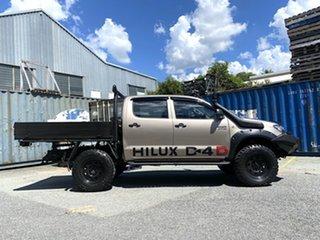 2008 Toyota Hilux KUN26R MY08 SR Gold 4 Speed Automatic Utility.