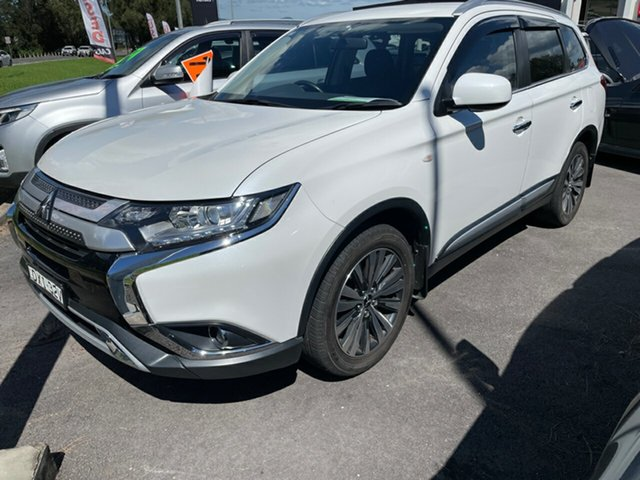 Used Mitsubishi Outlander ZL MY19 ES 2WD Maitland, 2018 Mitsubishi Outlander ZL MY19 ES 2WD White 6 Speed Constant Variable Wagon