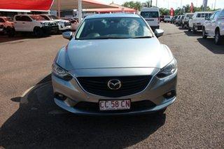 2013 Mazda 6 GJ1021 Atenza SKYACTIV-Drive Grey 6 Speed Automatic Sedan.