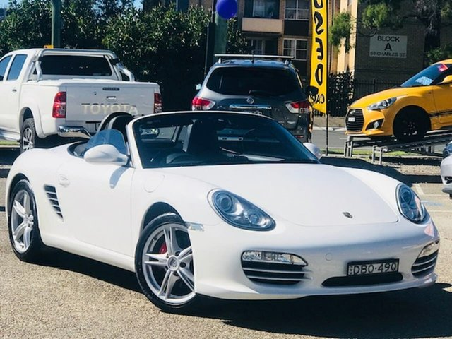 Used Porsche Boxster 987 MY10 PDK Liverpool, 2010 Porsche Boxster 987 MY10 PDK White 7 Speed Sports Automatic Dual Clutch Convertible