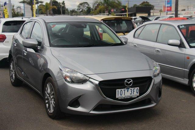 Used Mazda 2 DJ2HAA Neo SKYACTIV-Drive Cheltenham, 2018 Mazda 2 DJ2HAA Neo SKYACTIV-Drive Silver 6 Speed Sports Automatic Hatchback