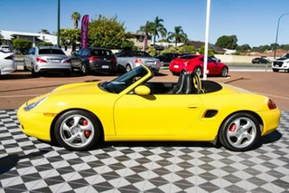 2001 Porsche Boxster 986 MY02 S Yellow 6 Speed Manual Convertible.