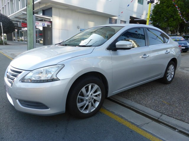 Used Nissan Pulsar B17 ST-L Southport, 2013 Nissan Pulsar B17 ST-L Silver Continuous Variable Sedan