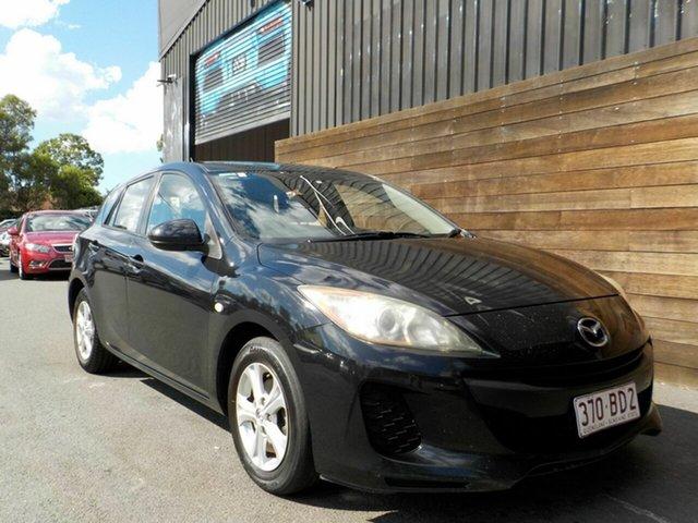 Used Mazda 3 BL10F2 Neo Labrador, 2012 Mazda 3 BL10F2 Neo Black 6 Speed Manual Hatchback