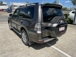 2015 Mitsubishi Pajero NX MY15 GLX Brown 5 Speed Sports Automatic Wagon