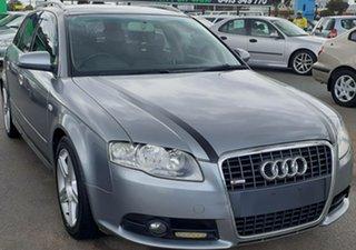 2008 Audi A4 B8 8K Avant Multitronic Galena Silver 8 Speed Constant Variable Wagon.