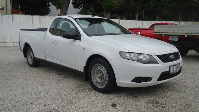 Used Ford Falcon FG Ute Super Cab Seaford, 2010 Ford Falcon FG Ute Super Cab White 4 Speed Sports Automatic Utility