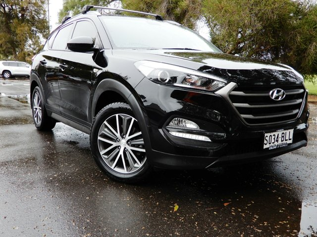 Used Hyundai Tucson TL Active X 2WD Glenelg, 2015 Hyundai Tucson TL Active X 2WD Black 6 Speed Sports Automatic Wagon
