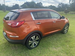 2012 Kia Sportage SL MY12 Platinum Orange 6 Speed Sports Automatic Wagon