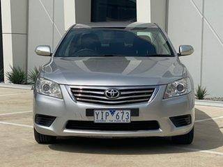 2011 Toyota Aurion GSV40R MY10 AT-X Silver 6 Speed Sports Automatic Sedan.