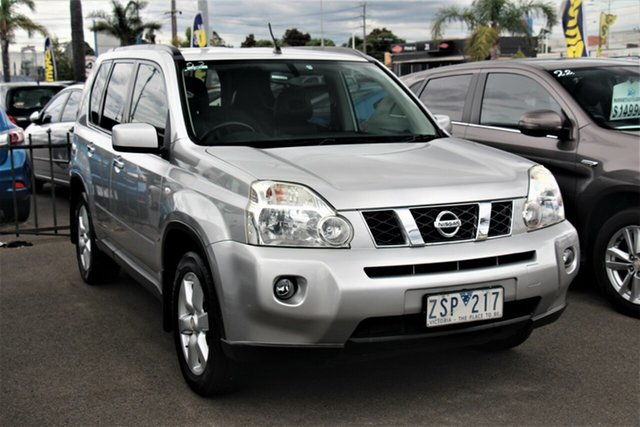 Used Nissan X-Trail T31 MY10 ST-L Cheltenham, 2009 Nissan X-Trail T31 MY10 ST-L Silver 1 Speed Constant Variable Wagon
