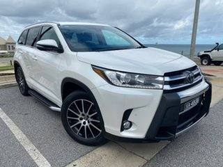 2018 Toyota Kluger GSU55R Grande AWD White 8 Speed Sports Automatic Wagon.
