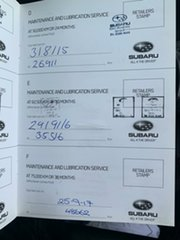2012 Subaru WRX MY13 Club Spec (AWD) Black 5 Speed Manual Sedan