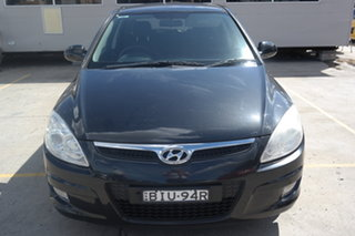 2009 Hyundai i30 FD MY09 SLX Black 5 Speed Manual Hatchback.