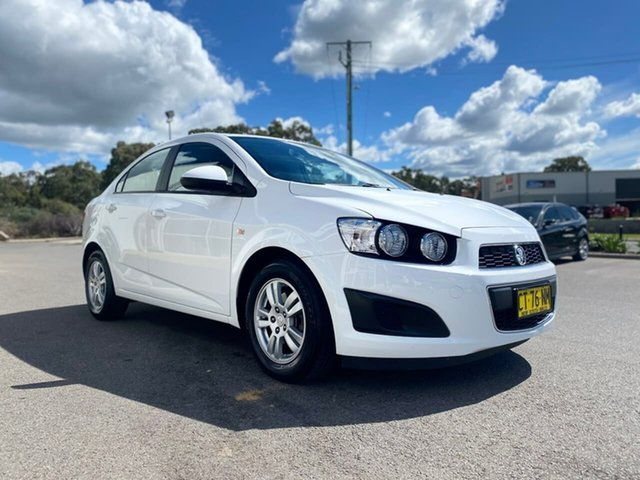Used Holden Barina TM MY13 CD Goulburn, 2012 Holden Barina TM MY13 CD White 5 Speed Manual Sedan