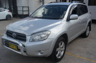 2006 Toyota RAV4 ACA33R Cruiser Silver 4 Speed Automatic Wagon