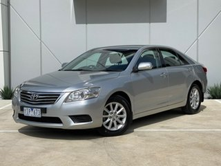 2011 Toyota Aurion GSV40R MY10 AT-X Silver 6 Speed Sports Automatic Sedan.