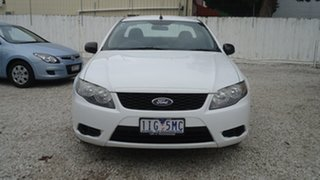 2010 Ford Falcon FG Ute Super Cab White 4 Speed Sports Automatic Utility