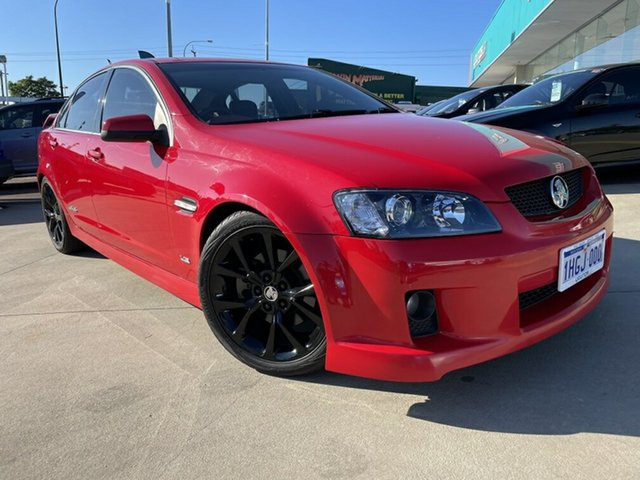 Used Holden Commodore VE MY08 SS-V Victoria Park, 2007 Holden Commodore VE MY08 SS-V Red 6 Speed Manual Sedan
