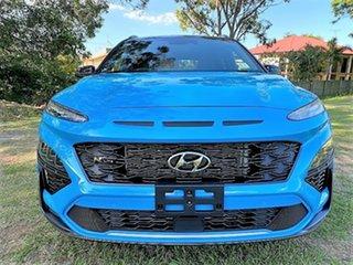 2021 Hyundai Kona Os.v4 MY21 N-Line D-CT AWD Premium Dive In Jeju & Black Roof 7 Speed.