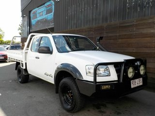 2008 Ford Ranger PJ XL White 5 Speed Manual Cab Chassis.
