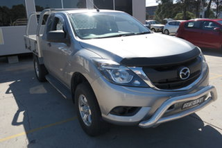 2016 Mazda BT-50 UR0YF1 XTR Freestyle Silver 6 Speed Sports Automatic Utility.