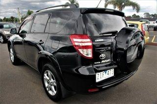 2012 Toyota RAV4 ACA38R MY12 Cruiser 4x2 Black 4 Speed Automatic Wagon