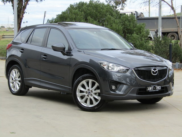 Used Mazda CX-5 KE1031 MY13 Grand Touring SKYACTIV-Drive AWD Ravenhall, 2013 Mazda CX-5 KE1031 MY13 Grand Touring SKYACTIV-Drive AWD Grey 6 Speed Sports Automatic Wagon