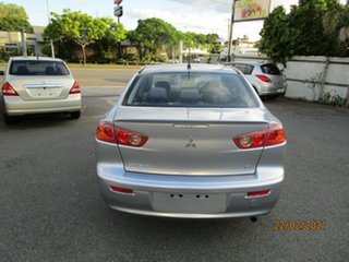 2007 Mitsubishi Lancer CJ ES Silver 6 Speed CVT Auto Sequential Sedan