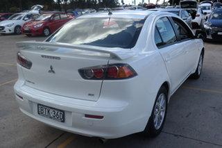 2010 Mitsubishi Lancer CJ MY11 SX White 5 Speed Manual Sedan