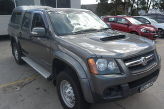 2010 Holden Colorado RC MY10 LX Crew Cab Grey 5 Speed Manual Utility.