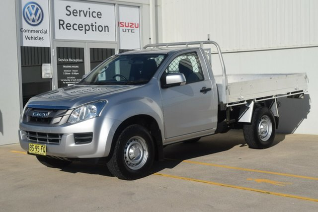 Used Isuzu D-MAX MY12 SX Rutherford, 2012 Isuzu D-MAX MY12 SX Silver 5 Speed Manual Cab Chassis