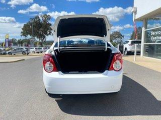 2012 Holden Barina TM MY13 CD White 5 Speed Manual Sedan