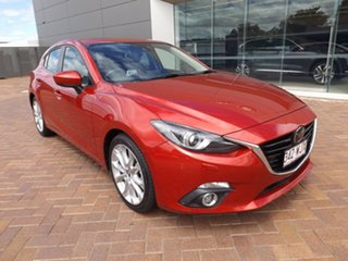2016 Mazda 3 BN5436 SP25 SKYACTIV-MT Astina Soul Red 6 Speed Manual Hatchback.