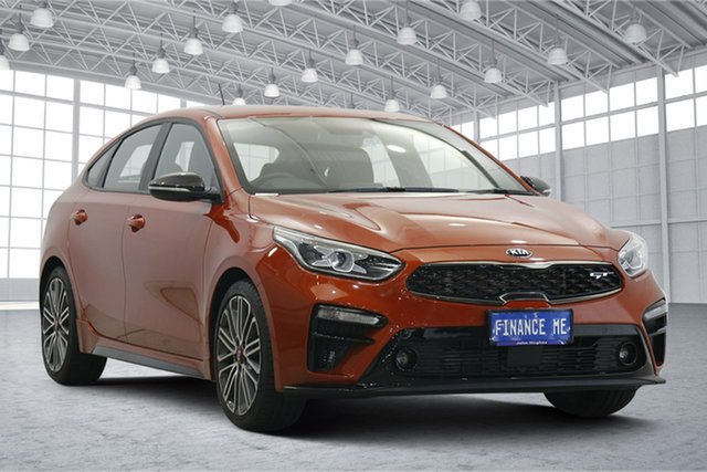 Used Kia Cerato BD MY20 GT DCT Victoria Park, 2019 Kia Cerato BD MY20 GT DCT Orange 7 Speed Sports Automatic Dual Clutch Hatchback