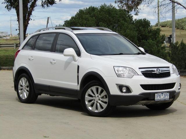 Used Holden Captiva CG MY15 5 LT Ravenhall, 2015 Holden Captiva CG MY15 5 LT White 6 Speed Sports Automatic Wagon