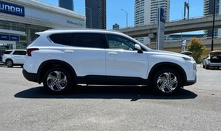 2020 Hyundai Santa Fe Tm.v3 MY21 Active CRDi (AWD) White Cream 8 Speed Auto Dual Clutch Wagon.