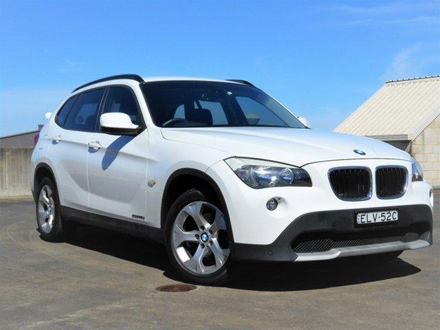 Used BMW X1 E84 MY11 sDrive20d Steptronic Brookvale, 2011 BMW X1 E84 MY11 sDrive20d Steptronic White 6 Speed Sports Automatic Wagon