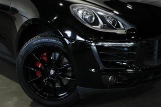 2014 Porsche Macan 95B MY15 S PDK AWD Diesel Black 7 Speed Sports Automatic Dual Clutch Wagon.