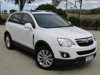 2015 Holden Captiva CG MY15 5 LT White 6 Speed Sports Automatic Wagon