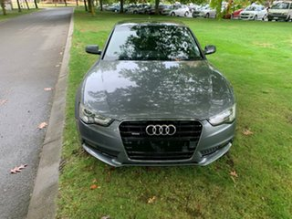2013 Audi A5 8T MY13 S Tronic Quattro Silver 7 Speed Sports Automatic Dual Clutch Coupe.