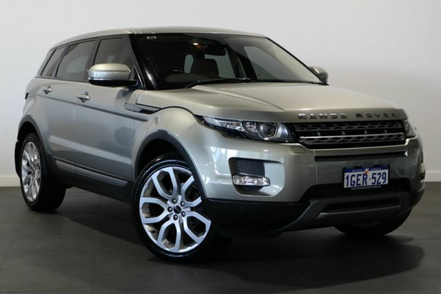 Used Land Rover Range Rover Evoque L538 MY12 SD4 CommandShift Pure Bayswater, 2011 Land Rover Range Rover Evoque L538 MY12 SD4 CommandShift Pure Gold 6 Speed Sports Automatic