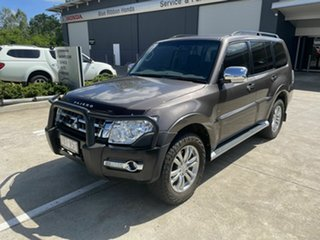 2015 Mitsubishi Pajero NX MY15 GLX Brown 5 Speed Sports Automatic Wagon.